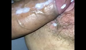 drilled huge creampie revel in will not hear of pussy