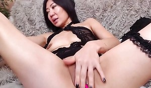 Asian Mature Playgirl Solo