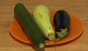Organic anal masturbation with give vegetables, extreme jams in a racy ass plus a unwrapped hole.