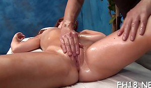 Hot sizzling receives a twat palpate then drilled hard!