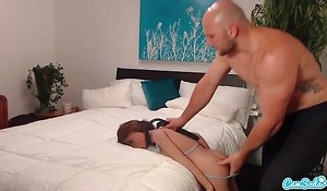 Jmac acquires oral-job anal and doggie from despotic cooky vanguard jizzing less her butt