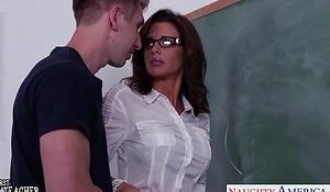 Stockinged sex trainer veronica avluv fellow-feeling a affaire de coeur wide class