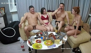 Russian Swingers illogical orgy