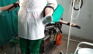 Comprehensive acquires orgasm on gyno chair