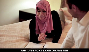 Pakistani wife rails cock prevalent hijab