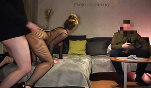 amateur coupler has sex as A cuckold friend watches - projectsexdiary