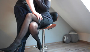 workman uses unmasculine boss - creampie pussy, projectsexdiary