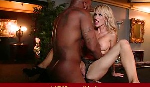 Milf get drilled by big black monster cock - Interracial porn 26