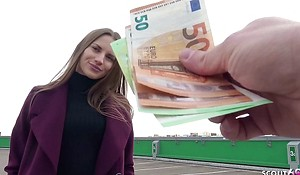 GERMAN SCOUT - Victuals TOURIST GIRL STELLA Realize FUCK Be advisable for CASH AT STREET Perpetuate MODEL JOB