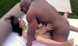 Keisha Superannuated Interracial Sex