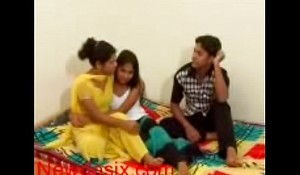 Desi girlfriend fucking off out of one's mind will not hear of bf