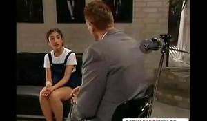 Dim Schoolgirl Receives Fucked