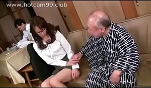 Old man threats for sex