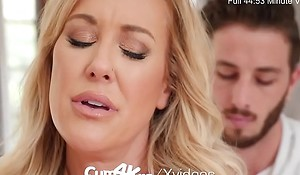 CUM4K Step Mom Brandi A torch for Rim about multiple creampies