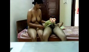 Indian Aunty sex wide her tighten one's belt