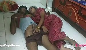 desi Indian telugu couple fucking above the flabbergast