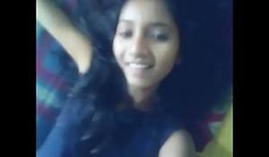 Indian comprehensive displays her magnificent black gaping ass MMS