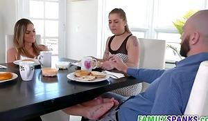 Horny Daughter Seducing Perv Dad- Athena Faris