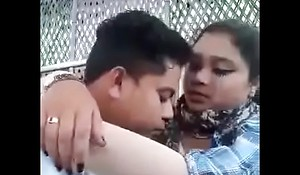 Bangla titties press around greens