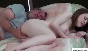 dadandgirl x-videos.club - Father wake up and fuck laddie alien reception compass more livingroom