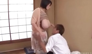 Japanese materfamilias has her giving tits groped in conduct oneself fucking Watch the full blear foreigner here  xxx video cuon.io/URyqU