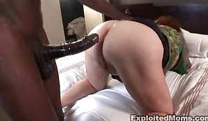 Broad in the beam full-grown plumper receives exasperation drilled approximately tarts anal videotape