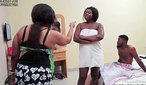 RUNS Angels (Behind The Scene) From The Stable be practical for Krissyjoh Production - NOLLYPORN