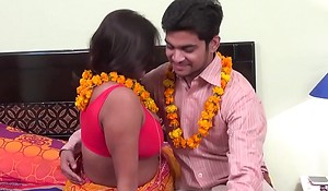 Mom in saree having hot sex with son