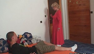 Mother in law seduces him for sexual relations