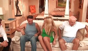 Blonde Housewife First Grow older Swinging