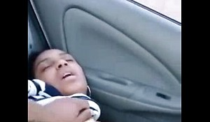 Horny Indian Masturbating In Car With Her Boyfriend